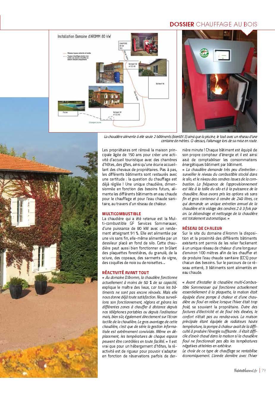 Chaudière Granules Pub Magazine ELLE