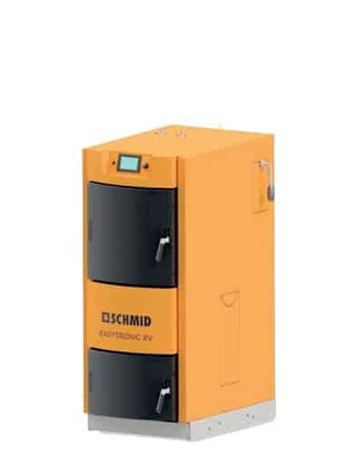 Chaudière automatique Bois buche Schmid - GF Services