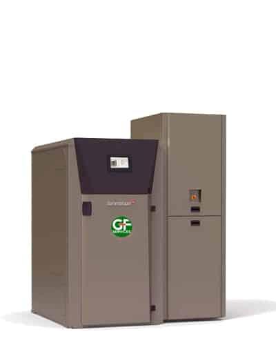 Chaudière automatique plaquettes, multi-combustibles - GF Services